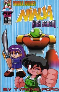 Cover Thumbnail for Small Bodied Ninja High School (Antarctic Press, 1992 series) #6