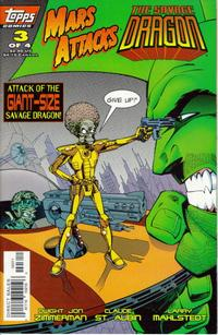 Cover Thumbnail for Mars Attacks The Savage Dragon (Topps, 1996 series) #3