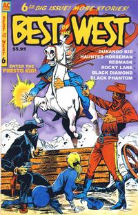 Cover Thumbnail for Best of the West (AC, 1998 series) #6