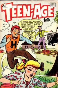 Cover Thumbnail for Teen-Age Talk (I. W. Publishing; Super Comics, 1958 series) #8