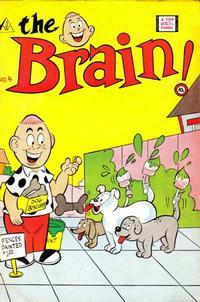 Cover Thumbnail for The Brain (I. W. Publishing; Super Comics, 1958 series) #4
