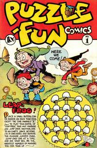 Cover Thumbnail for Puzzle-Fun Comics (George W. Dougherty Publishing Company, 1946 series) #1