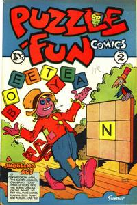 Cover Thumbnail for Puzzle-Fun Comics (George W. Dougherty Publishing Company, 1946 series) #2