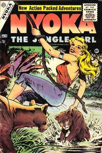 Cover Thumbnail for Nyoka the Jungle Girl (Charlton, 1955 series) #14