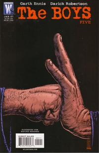 Cover Thumbnail for The Boys (DC, 2006 series) #5
