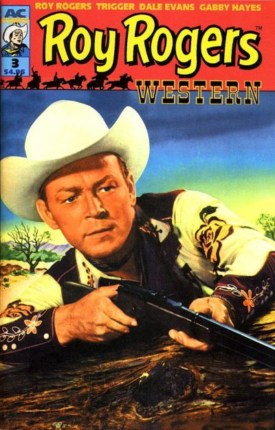 Cover for Roy Rogers Western (AC, 1998 series) #3