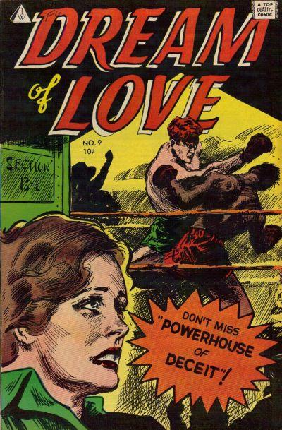Cover for Dream of Love (I. W. Publishing; Super Comics, 1958 series) #9