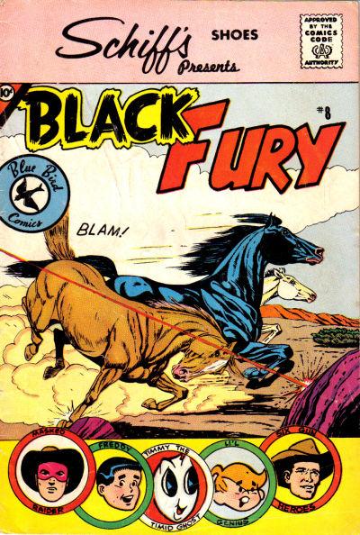 Cover for Black Fury (Charlton, 1959 series) #8