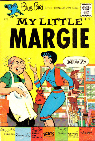 Cover for My Little Margie (Charlton, 1963 series) #17