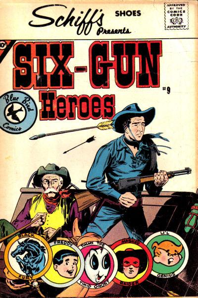 Cover for Six-Gun Heroes (Charlton, 1959 series) #9