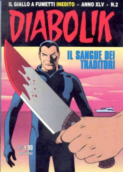 Cover for Diabolik (Astorina, 1962 series) #v45#2