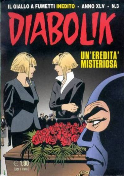 Cover for Diabolik (Astorina, 1962 series) #v45#3
