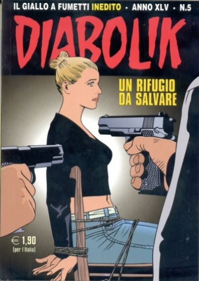 Cover for Diabolik (Astorina, 1962 series) #v45#5