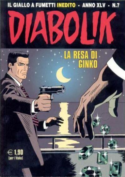 Cover for Diabolik (Astorina, 1962 series) #v45#7