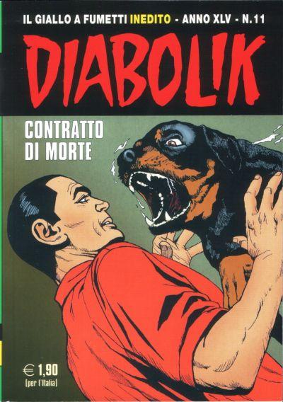 Cover for Diabolik (Astorina, 1962 series) #v45#11