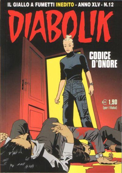 Cover for Diabolik (Astorina, 1962 series) #v45#12