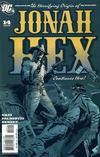 Cover for Jonah Hex (DC, 2006 series) #14