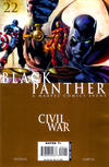Cover for Black Panther (Marvel, 2005 series) #22