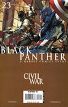 Cover for Black Panther (Marvel, 2005 series) #23