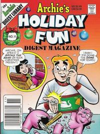 Cover Thumbnail for Archie's Holiday Fun Digest (Archie, 1997 series) #11