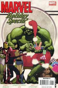 Cover Thumbnail for Marvel Holiday Special 2006 (Marvel, 2006 series) #1