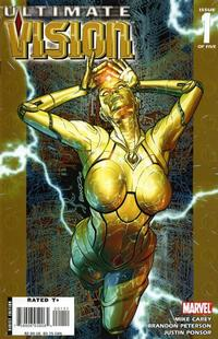 Cover Thumbnail for Ultimate Vision (Marvel, 2007 series) #1