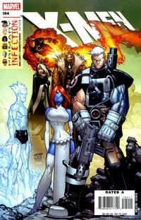 Cover Thumbnail for X-Men (Marvel, 2004 series) #194