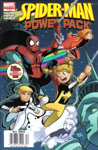 Cover Thumbnail for Spider-Man and Power Pack (Marvel, 2007 series) #1 [Newsstand]