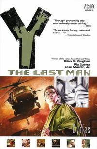 Cover Thumbnail for Y: The Last Man (DC, 2003 series) #2 - Cycles [First Print]
