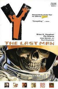 Cover Thumbnail for Y: The Last Man (DC, 2003 series) #3 - One Small Step [First Print]