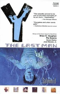 Cover Thumbnail for Y: The Last Man (DC, 2003 series) #4 - Safeword [First Print]