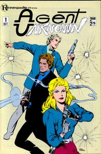 Cover Thumbnail for Agent Unknown (Renegade Press, 1987 series) #1