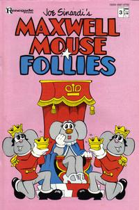 Cover Thumbnail for Maxwell Mouse Follies (Renegade Press, 1986 series) #3