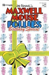 Cover Thumbnail for Maxwell Mouse Renegade Follies (Renegade Press, 1986 series) #6