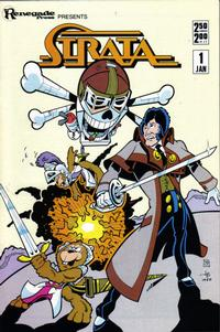 Cover Thumbnail for Strata (Renegade Press, 1986 series) #1