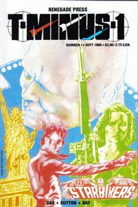 Cover Thumbnail for T-Minus 1 (Renegade Press, 1988 series) #1