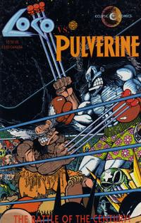 Cover Thumbnail for Loco vs. Pulverine (Eclipse, 1992 series)