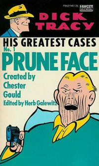 Cover Thumbnail for Dick Tracy His Greatest Cases (Gold Medal Books, 1975 series) #1 (P3427)