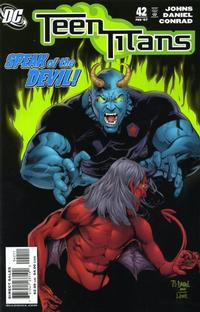 Cover for Teen Titans (DC, 2003 series) #42 [Direct Sales]