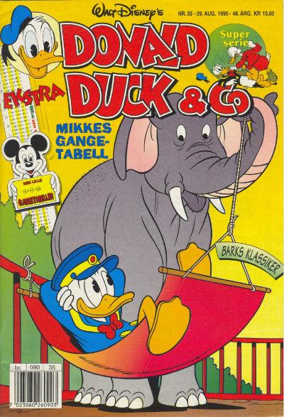 Cover for Donald Duck & Co (Hjemmet / Egmont, 1948 series) #35/1995