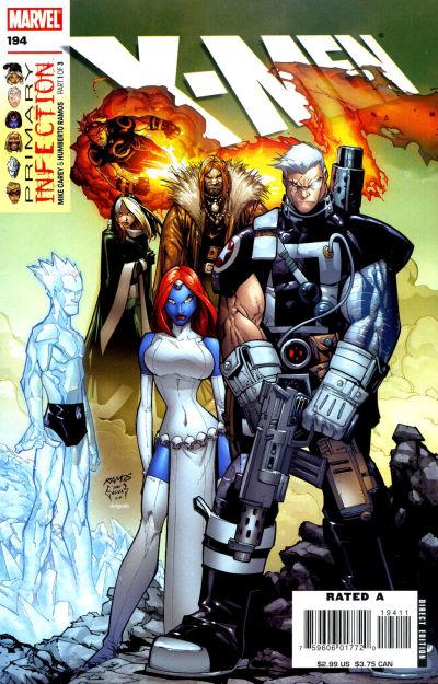 Cover for X-Men (Marvel, 2004 series) #194