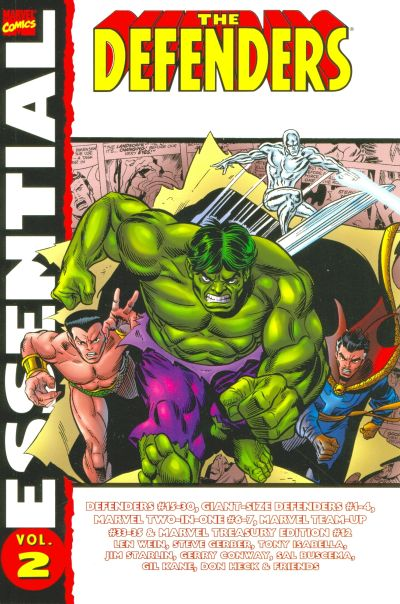 Cover for Essential Defenders (Marvel, 2005 series) #2