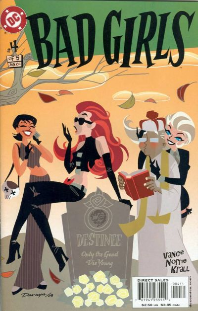 Cover for Bad Girls (DC, 2003 series) #4