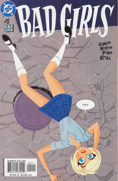 Cover for Bad Girls (DC, 2003 series) #5