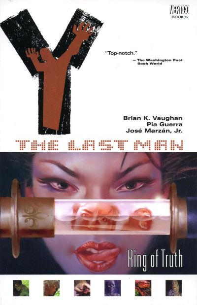 Cover for Y: The Last Man (DC, 2003 series) #5 - Ring of Truth