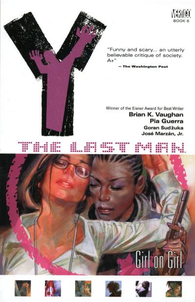 Cover for Y: The Last Man (DC, 2003 series) #6 - Girl on Girl