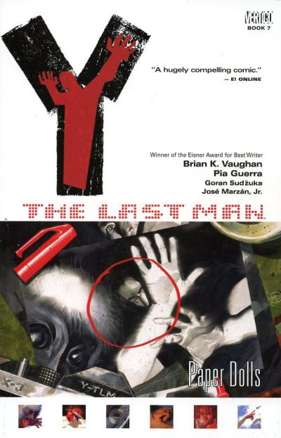 Cover for Y: The Last Man (DC, 2003 series) #7 - Paper Dolls