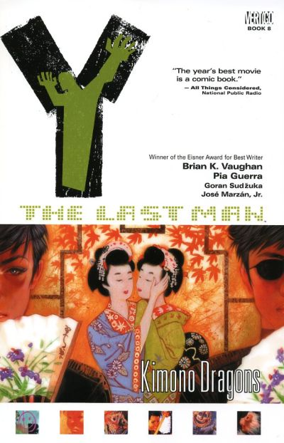 Cover for Y: The Last Man (DC, 2003 series) #8 - Kimono Dragons