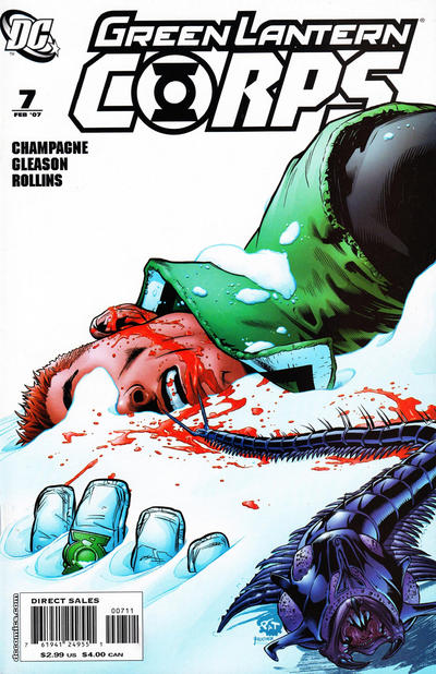 Cover for Green Lantern Corps (DC, 2006 series) #7