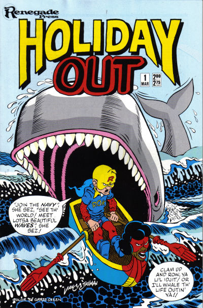 Cover for Holiday Out (Renegade Press, 1987 series) #1